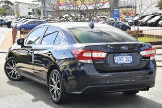 2018 Subaru Impreza G5 MY18 2.0i-L CVT AWD Dark Blue Pearl 7 Speed Constant Variable Sedan.