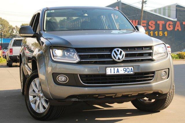 Used Volkswagen Amarok 2H MY16 TDI420 Highline CS (4x4) West Footscray, 2016 Volkswagen Amarok 2H MY16 TDI420 Highline CS (4x4) 8 Speed Automatic Dual Cab Utility