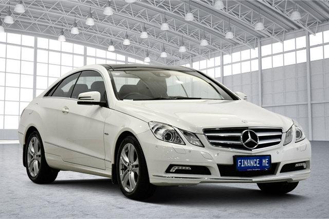 Used Mercedes-Benz E-Class C207 E250 CDI BlueEFFICIENCY Elegance Victoria Park, 2010 Mercedes-Benz E-Class C207 E250 CDI BlueEFFICIENCY Elegance White 5 Speed Sports Automatic