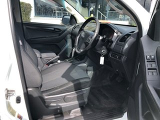 2014 Isuzu D-MAX MY15 SX Crew Cab White 5 Speed Sports Automatic Cab Chassis