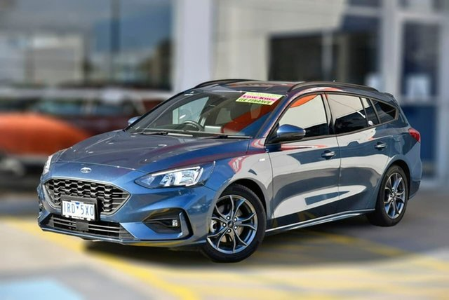 Used Ford Focus SA 2020.25MY ST-Line Berwick, 2020 Ford Focus SA 2020.25MY ST-Line Blue 8 Speed Automatic Wagon