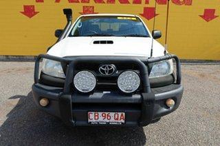 2011 Toyota Hilux KUN26R MY10 SR White 5 Speed Manual Dual Cab.