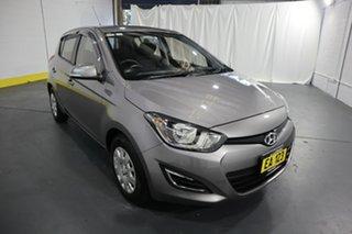 2014 Hyundai i20 PB MY14 Active Grey 6 Speed Manual Hatchback.