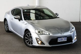 2015 Toyota 86 ZN6 MY14 Upgrade GT Ice Silver 6 Speed Auto Sequential Coupe.