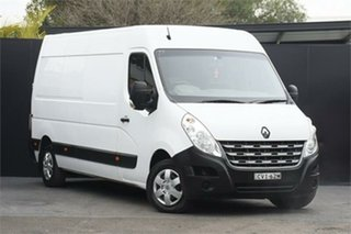 2014 Renault Master X62 Mid Roof LWB AMT White 6 Speed Sports Automatic Single Clutch Van.