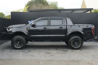 2016 Ford Ranger PX MkII XLS Double Cab Black 6 Speed Sports Automatic Utility