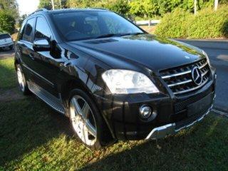 2010 Mercedes-Benz ML350 W164 09 Upgrade Sports Luxury (4x4) Black 7 Speed Automatic G-Tronic Wagon