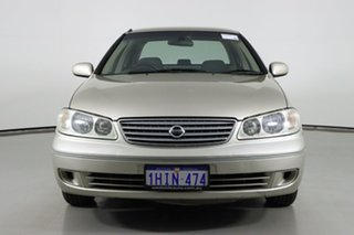 2004 Nissan Pulsar N16 MY04 ST Gold 4 Speed Automatic Sedan.