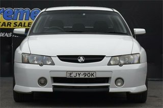 2003 Holden Crewman VY II SS White 4 Speed Automatic Utility.