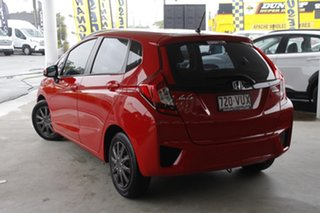 2015 Honda Jazz GF MY15 VTi Rally Red 1 Speed Constant Variable Hatchback.