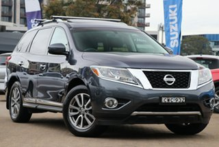 2014 Nissan Pathfinder R52 ST-L Hybrid (4x4) Grey Continuous Variable Wagon.