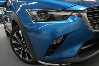 2019 Mazda CX-3 DK MY19 Akari (FWD) Blue 6 Speed Automatic Wagon.