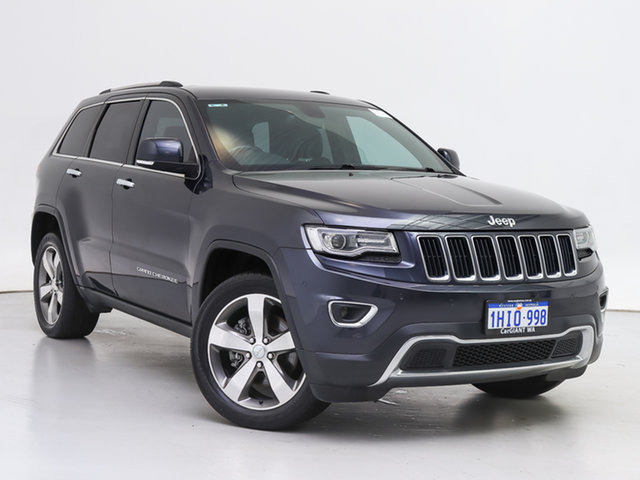 Used Jeep Grand Cherokee WK MY14 Limited (4x4), 2014 Jeep Grand Cherokee WK MY14 Limited (4x4) Maximum Steel 8 Speed Automatic Wagon