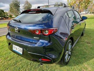 2020 Mazda 3 BP2HLA G25 SKYACTIV-Drive Evolve Deep Crystal Blue 6 Speed Sports Automatic Hatchback.