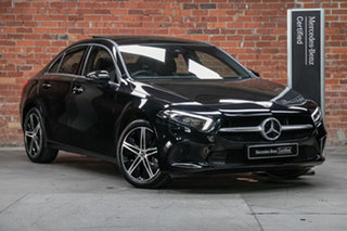 2019 Mercedes-Benz A-Class V177 800MY A200 DCT Cosmos Black 7 Speed Sports Automatic Dual Clutch.