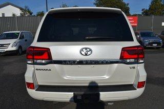 2018 Toyota Landcruiser VDJ200R Sahara White 6 Speed Sports Automatic Wagon.