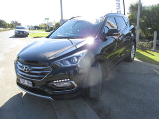 2016 Hyundai Santa Fe DM Series II (DM3) Elite CRDi (4x4) Black 6 Speed Automatic Wagon.