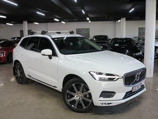 2019 Volvo XC60 UZ MY20 D4 AWD Inscription White 8 Speed Sports Automatic Wagon.