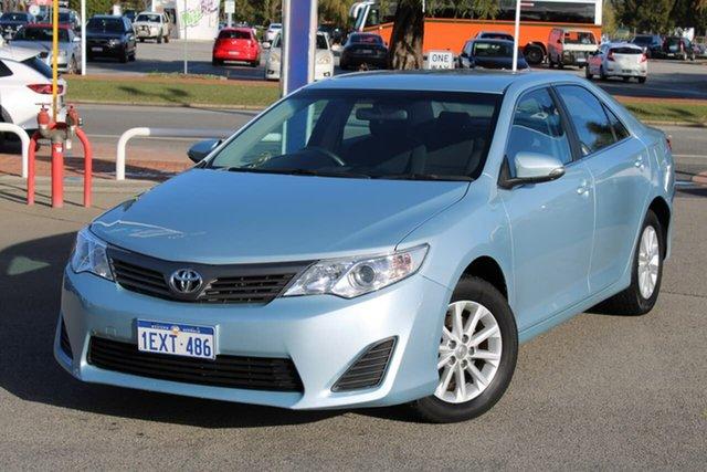 Used Toyota Camry ASV50R Altise Midland, 2014 Toyota Camry ASV50R Altise Blue 6 Speed Sports Automatic Sedan