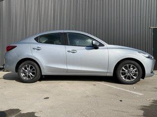 2021 Mazda 2 Mazda2 Sonic Silver Sedan