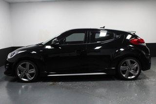 2014 Hyundai Veloster FS3 SR Coupe Turbo Black 6 Speed Sports Automatic Hatchback