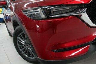 2017 Mazda CX-5 MY17 Maxx Sport (4x2) Red 6 Speed Automatic Wagon.