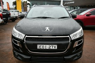 2016 Peugeot 4008 MY15 Active (4x2) Black 6 Speed CVT Auto Sequential Wagon