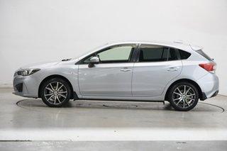 2017 Subaru Impreza G5 MY17 2.0i CVT AWD Silver 7 Speed Constant Variable Hatchback.