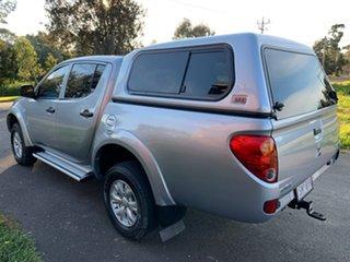 2015 Mitsubishi Triton MN GLX Silver Manual Utility.
