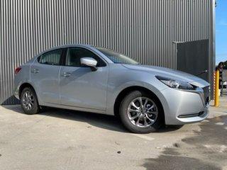 2021 Mazda 2 Mazda2 Sonic Silver Sedan.