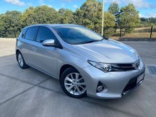 2012 Toyota Corolla ZRE182R Ascent Sport Silver 6 Speed Manual Hatchback.