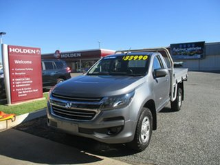 2017 Holden Colorado RG MY18 LS Grey 6 Speed Sports Automatic Cab Chassis.