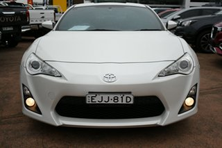 2014 Toyota 86 ZN6 MY14 GT White 6 Speed Auto Sequential Coupe