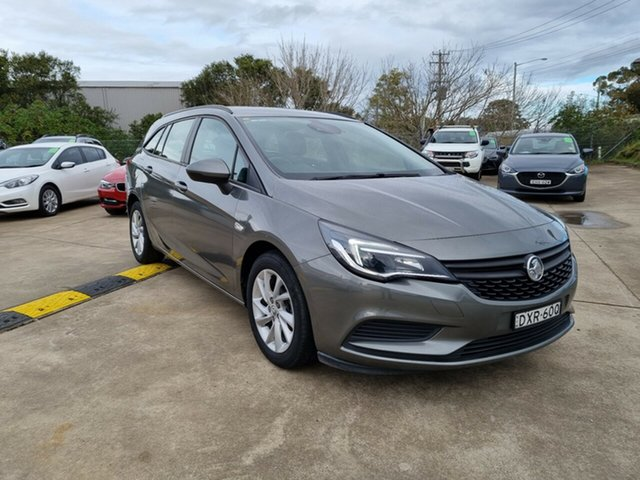 Used Holden Astra BL MY18 LS Glendale, 2018 Holden Astra BL MY18 LS Grey 6 Speed Sports Automatic Sedan