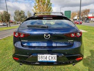2020 Mazda 3 BP2HLA G25 SKYACTIV-Drive Evolve Deep Crystal Blue 6 Speed Sports Automatic Hatchback