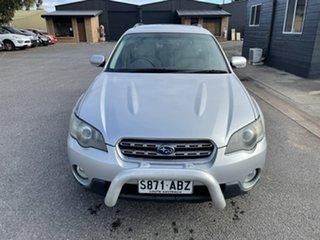2004 Subaru Outback B4A MY04 R AWD Silver 5 Speed Automatic Wagon.