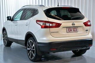 2015 Nissan Qashqai J11 TI White 1 Speed Constant Variable Wagon
