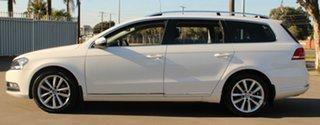 2014 Volkswagen Passat 3C MY15 130 TDI Highline White 6 Speed Direct Shift Wagon