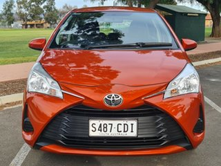 2019 Toyota Yaris NCP130R Ascent Orange 4 Speed Automatic Hatchback.