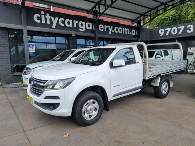 Used Holden Colorado RG MY16 LS (4x2) Bankstown, 2016 Holden Colorado RG MY16 LS (4x2) White 6 Speed Automatic Cab Chassis