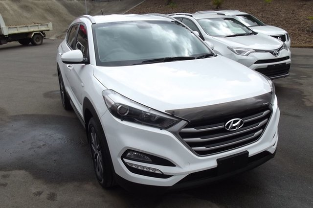 Used Hyundai Tucson TL MY17 Active X 2WD South Gladstone, 2016 Hyundai Tucson TL MY17 Active X 2WD White 6 Speed Sports Automatic Wagon