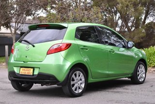2011 Mazda 2 DE10Y1 MY10 Neo Green 4 Speed Automatic Hatchback