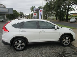 2014 Honda CR-V RM MY15 VTi Plus White 5 Speed Automatic Wagon.
