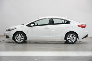 2015 Kia Cerato YD MY15 S Premium White 6 Speed Sports Automatic Sedan.