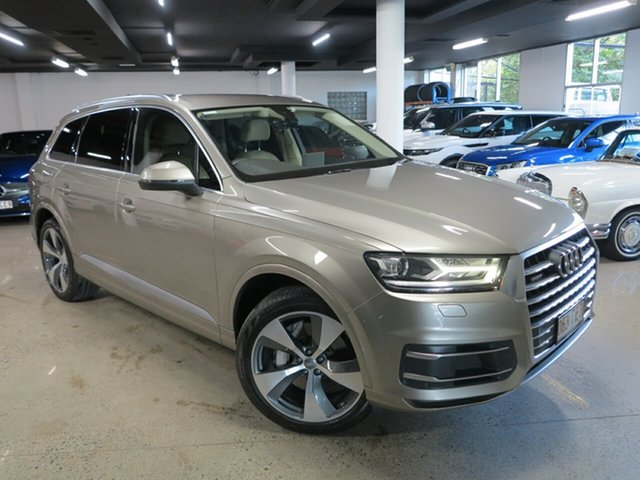 Used Audi Q7 4M MY17 TDI Tiptronic Quattro Albion, 2016 Audi Q7 4M MY17 TDI Tiptronic Quattro Silver 8 Speed Sports Automatic Wagon