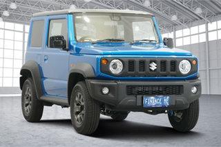 2021 Suzuki Jimny JB74 GLX Blue 5 Speed Manual Hardtop.
