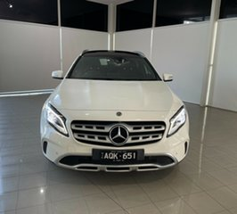 2017 Mercedes-Benz GLA-Class X156 808+058MY GLA220 d DCT White 7 Speed Sports Automatic Dual Clutch.