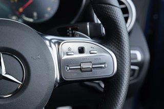 2020 Mercedes-Benz C-Class W205 800+050MY C200 9G-Tronic Brilliant Blue 9 Speed Sports Automatic