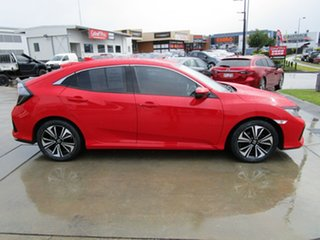 2018 Honda Civic 10th Gen MY18 VTi-L Red 1 Speed Constant Variable Hatchback