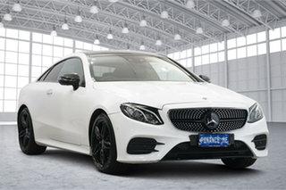 2017 Mercedes-Benz E-Class C238 E220 d 9G-Tronic PLUS White 9 Speed Sports Automatic Coupe.